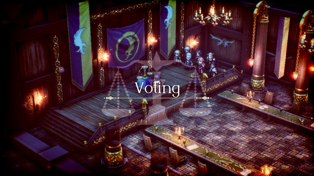 Project Triangle Strategy Nintendo Switch Final Fantasy Tactics Voting