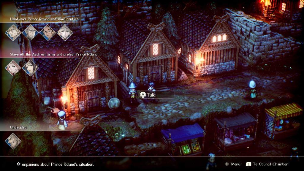 Project Triangle Strategy Nintendo Switch Final Fantasy Tactics Exploration