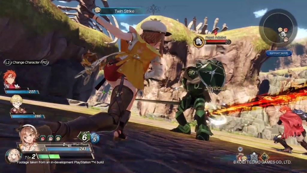 Atelier Ryza PS4 PS5 Combat