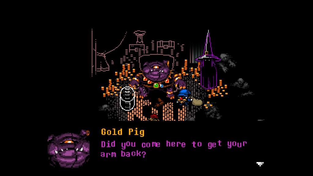 Everhood Nintendo Switch Gold Pig Villain