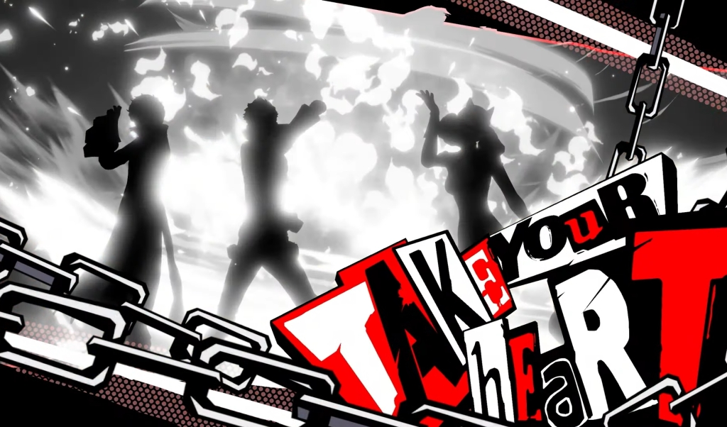 Persona 5 Strikers Joker PS4 PS5 Nintendo Switch All Out Attack Take Your Heart