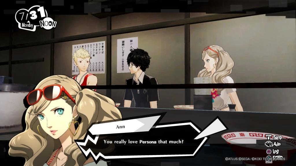 Persona 5 Strikers Joker PS4 PS5 Nintendo Switch Ann