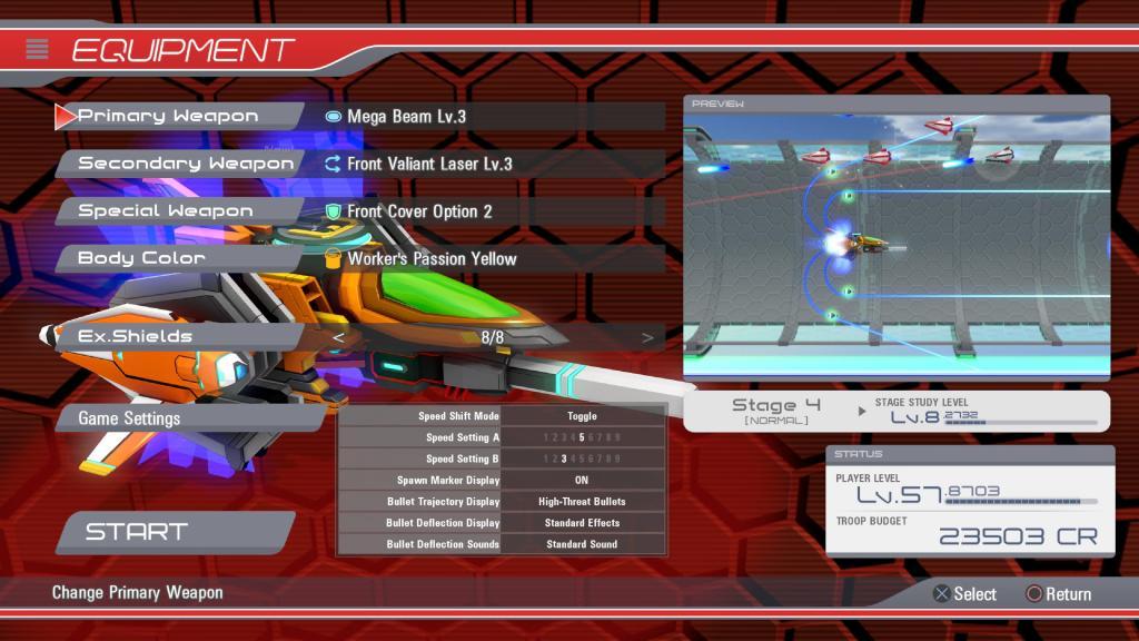 Natsuki Chronicles PS4 PS5 Ship Customisation Equipment