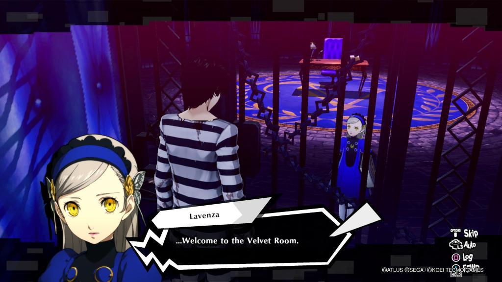 Persona 5 Strikers Joker PS4 PS5 Nintendo Switch Lavenza Velvet Room