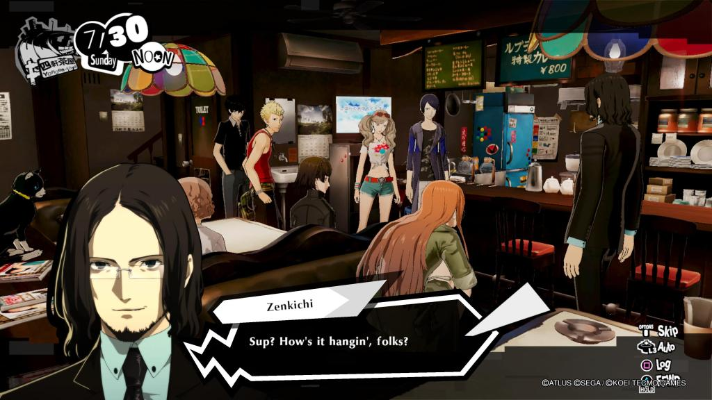 Persona 5 Strikers Joker PS4 PS5 Nintendo Switch Characters Zenkichi
