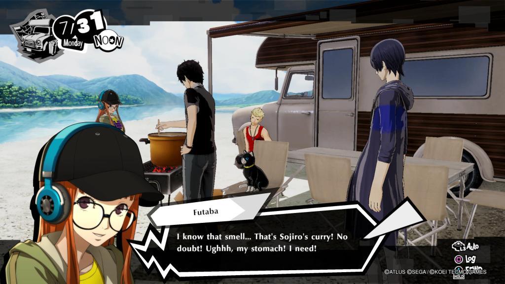 Persona 5 Strikers Joker PS4 PS5 Nintendo Switch Futaba Holiday Road Trip