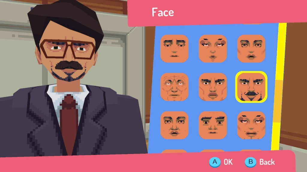 Say No More Nintendo Switch Character Creator