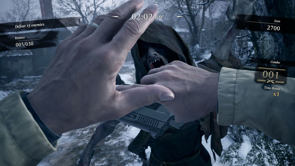 Resident Evil Village PS5 PlayStation 5 Mercenaries Mode