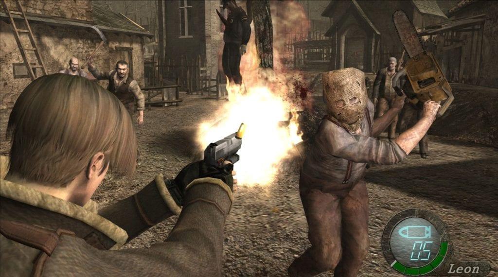 Resident Evil 4 Gamecube Chainsaw