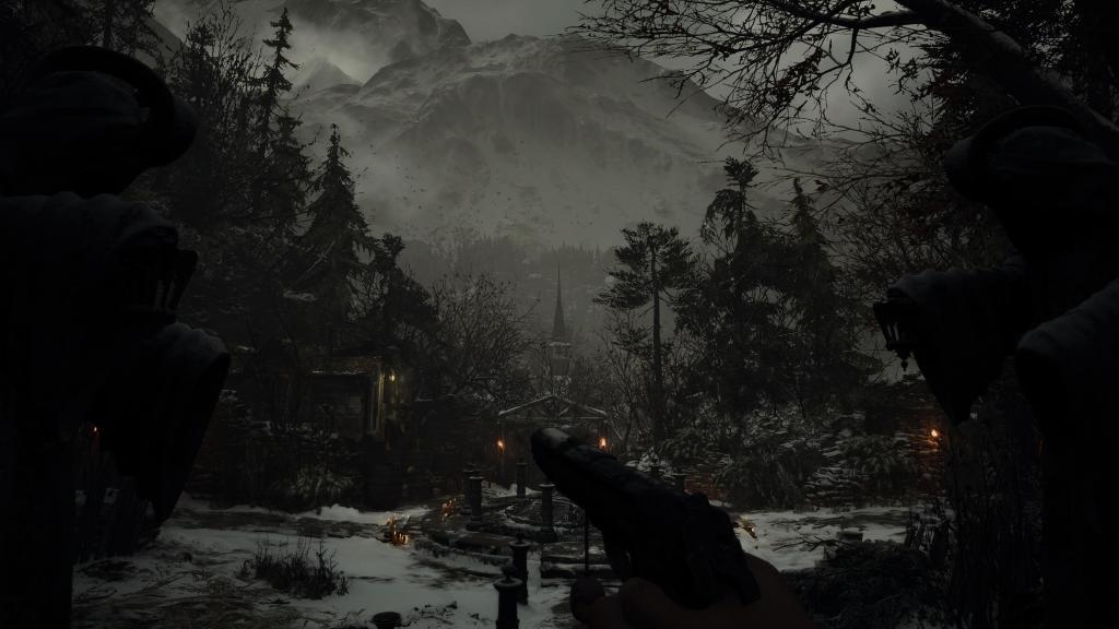 Resident Evil Village PS5 PlayStation 5 Environment Graphics