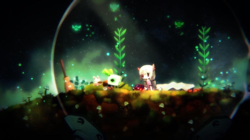 Void Terrarium PS5 Art