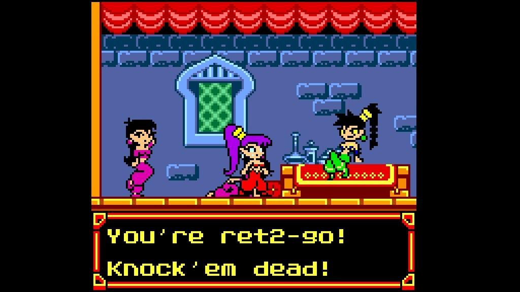 Shantae Ret 2 Go Nintendo Switch