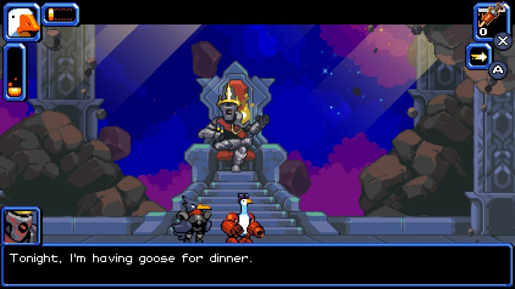 Void King Mighty Goose Nintendo Switch PC Xbox One PS4