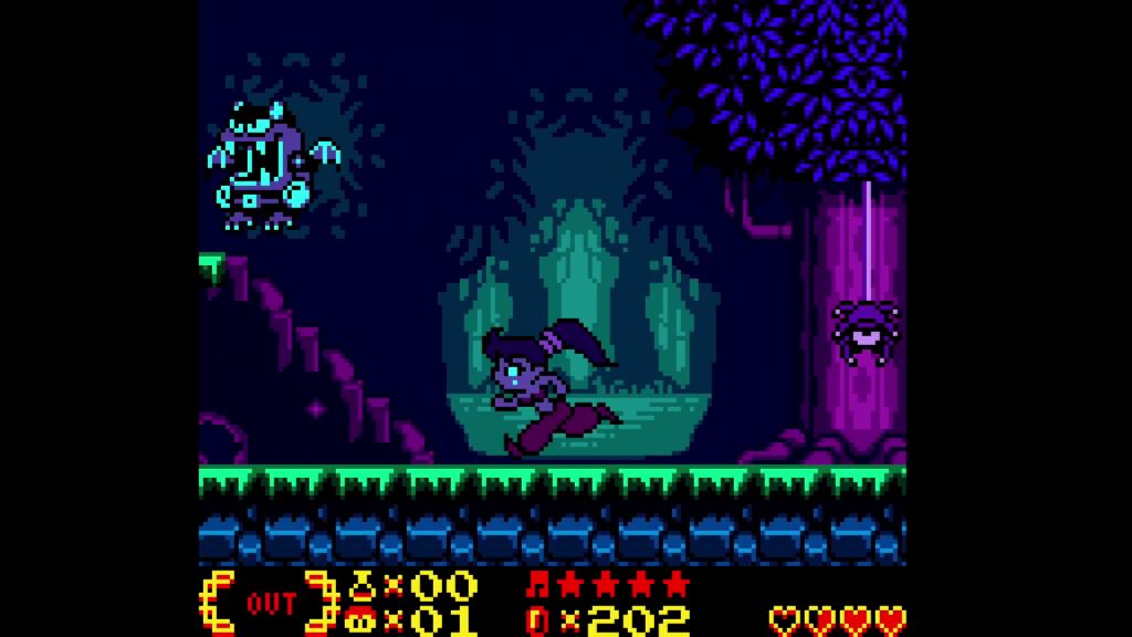 Shantae Overworld Gameboy color Colour Nintendo Switch