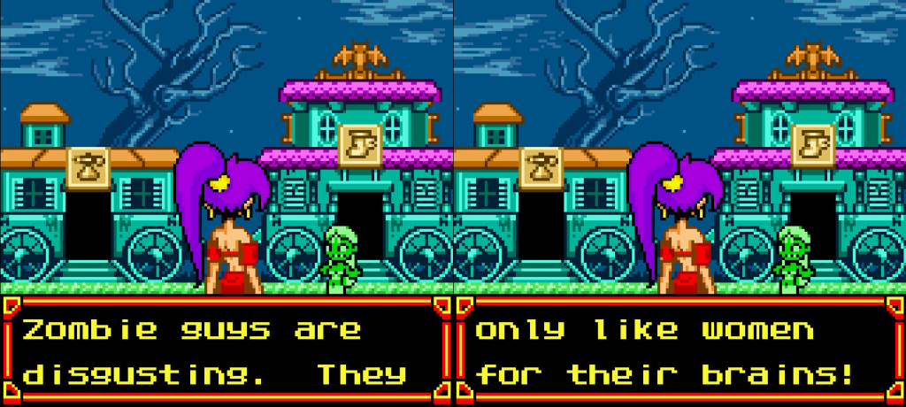 Shantae Nintendo Switch Gameboy Color Colour Zombie Caravan Joke