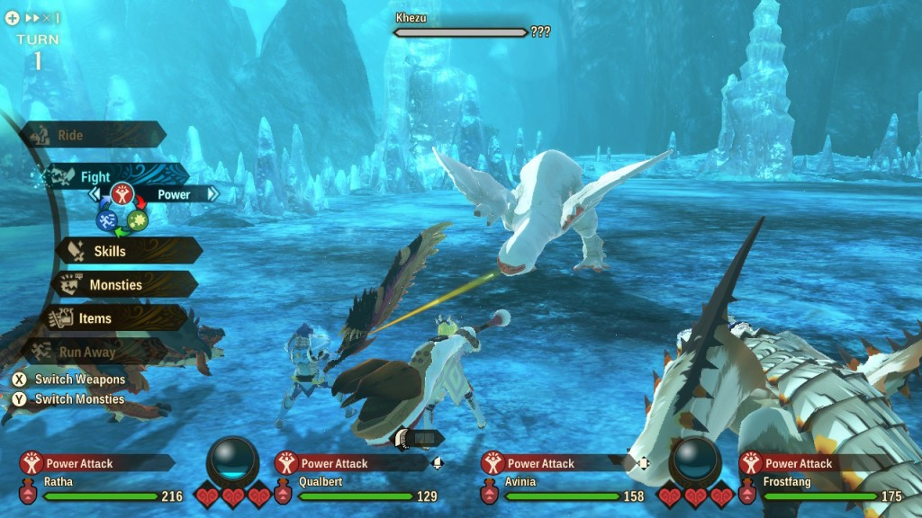 Monster Hunter Stories 2 Wings of Ruin Nintendo Switch Review Khezu Battle