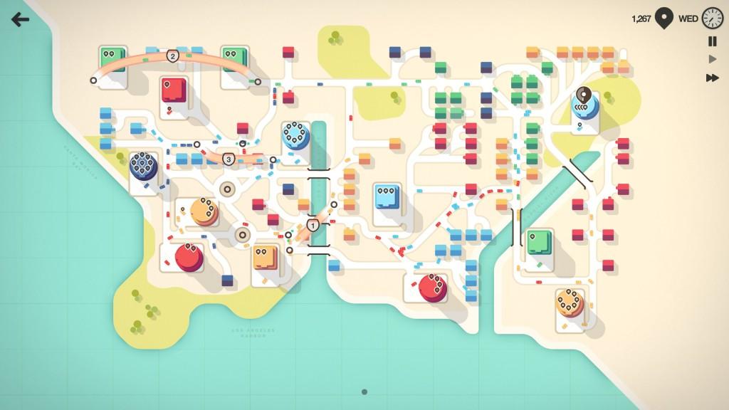Mini Motorways PC Steam Nintendo Switch iOS Apple Arcade Review