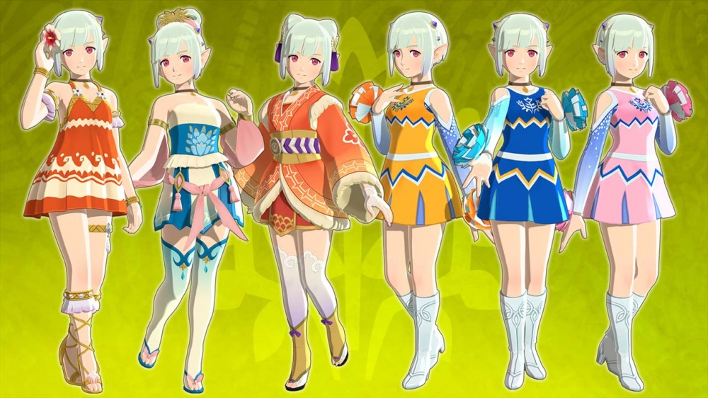 Monster Hunter Stories 2 Wings of Ruin Nintendo Switch Review Ena DLC Outfits