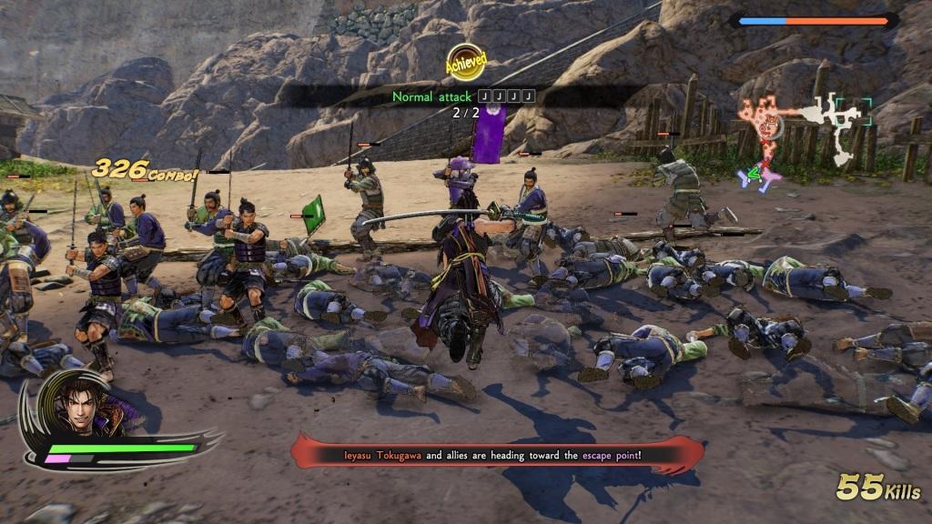 Samurai Warriors 5 Review Nobunaga Combo
