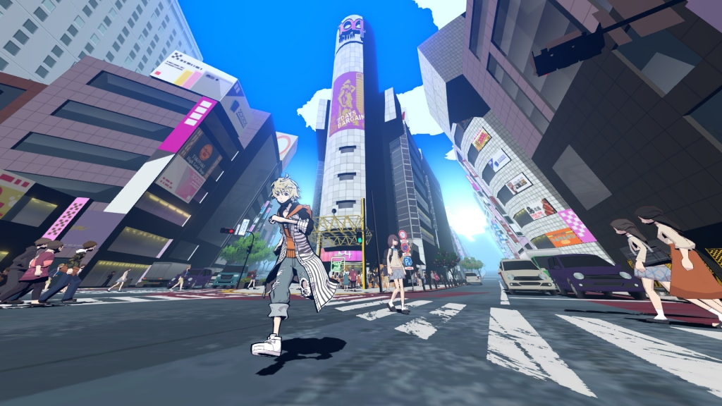 NEO TWEWY Shibuya Visuals City The World Ends With You