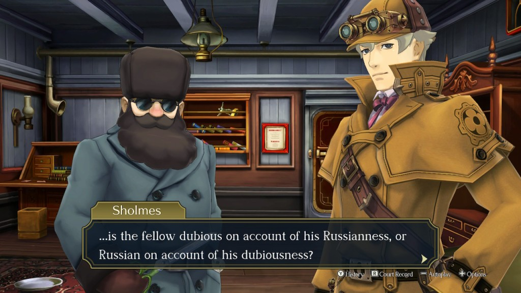 The Great Ace Attorney Nintendo Switch Review Russian