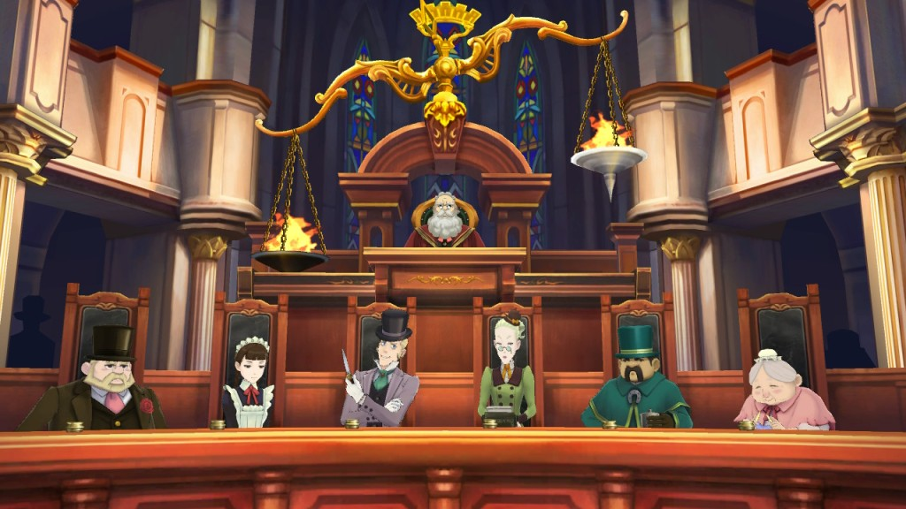 The Great Ace Attorney Nintendo Switch Review Jury