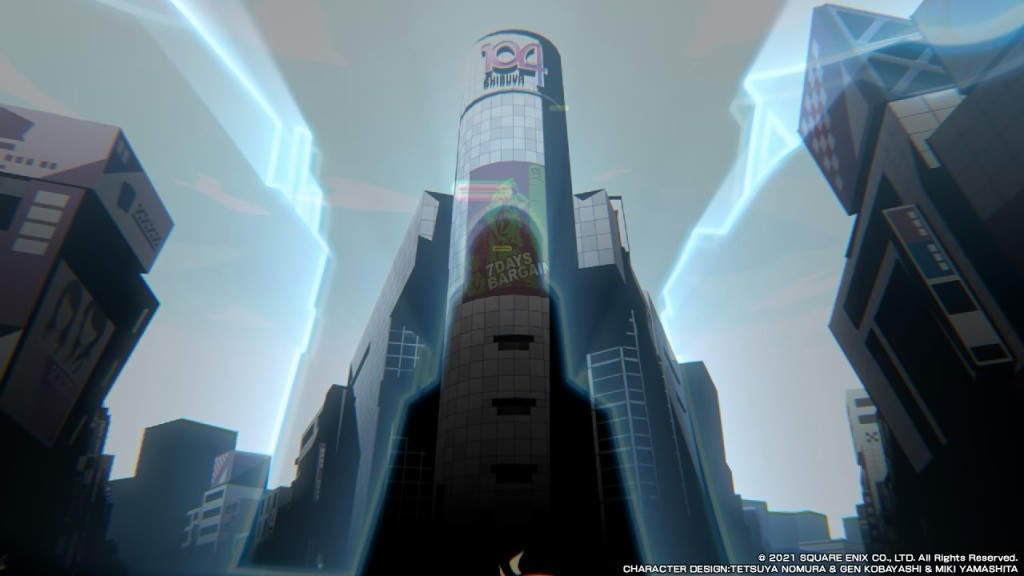 NEO TWEWY The World Ends With You Shibuya 104 Building