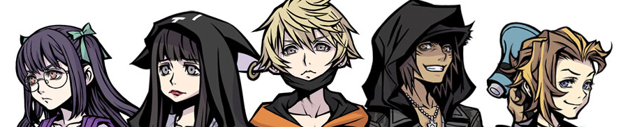 NEO TWEWY The World Ends With You Characters Banner