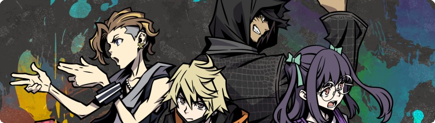 NEO TWEWY The World Ends With You Character Banner