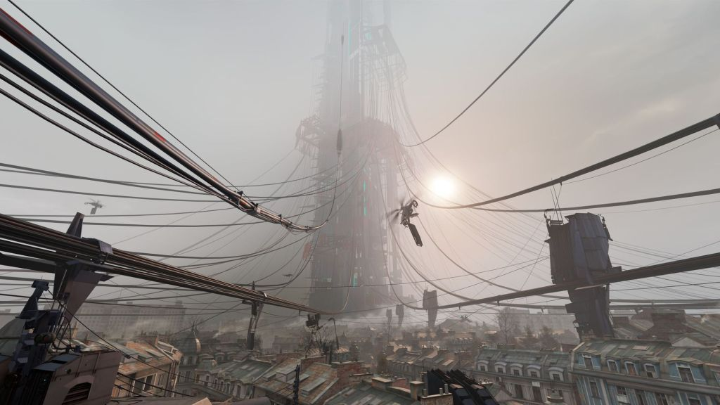 VR Valve Index PC Steam Review City 17 Half-Life Alyx Visuals