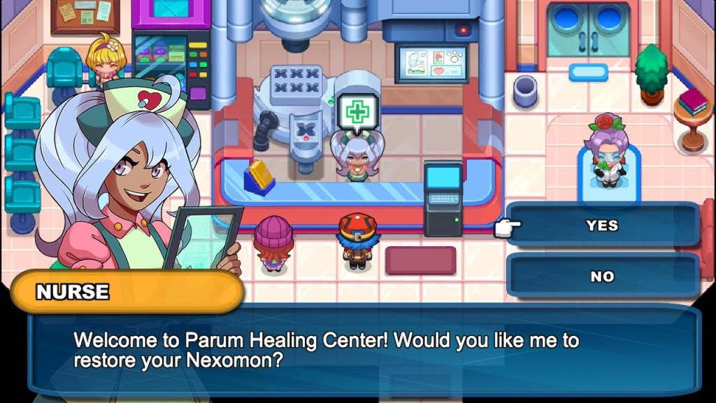 Nexomon Nintendo Switch Review Healing Centre Pokemon Centre