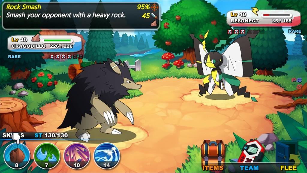 Nexomon Nintendo Switch Review Battle Combat