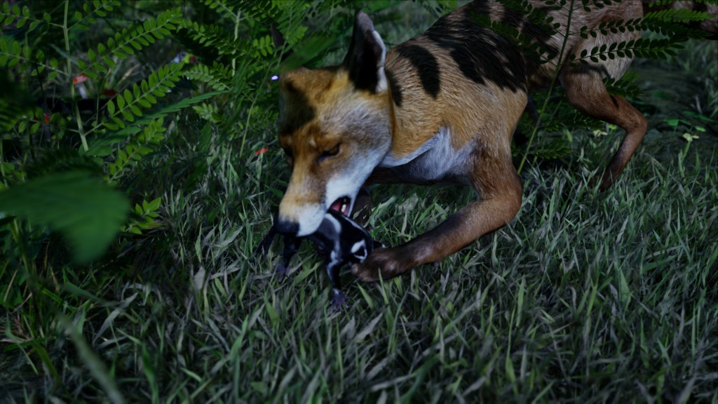 AWAY the survival series review PC Steam PS5 Nature Documentary Sugar glider Death Fox