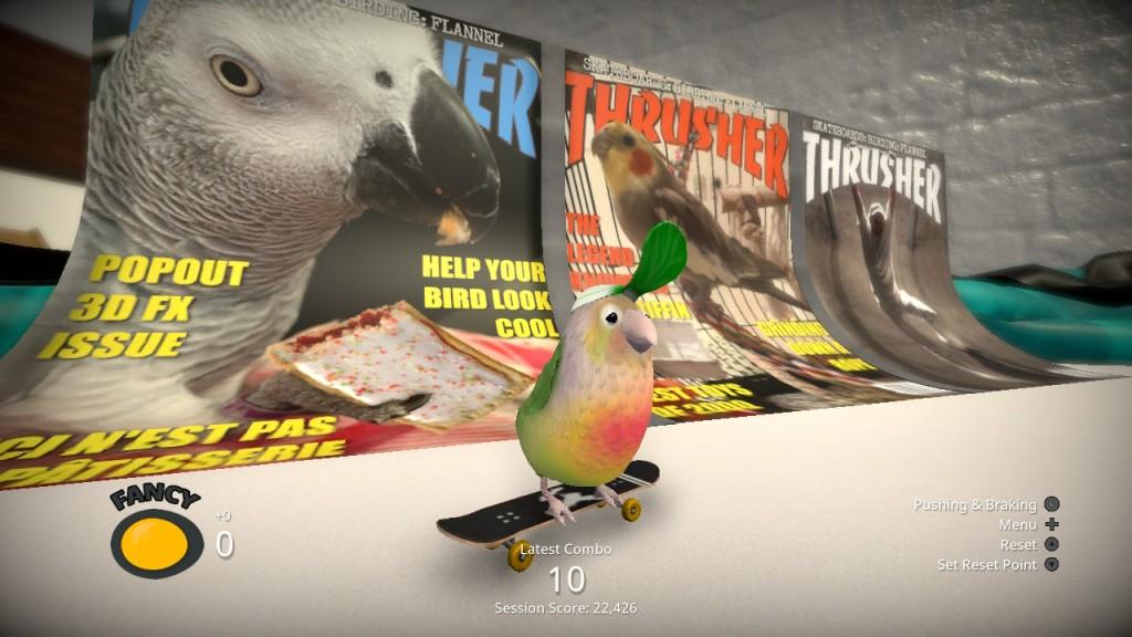 Skatebird nintendo Switch Xbox PC Playstation bird birb pop culture thrasher