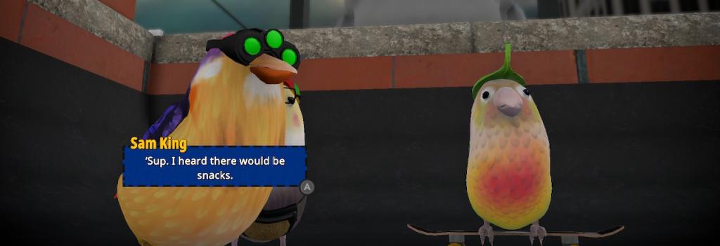 Skatebird nintendo Switch Xbox PC Playstation bird birb sam fisher splinter cell