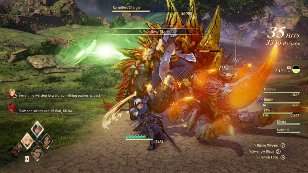Tales of Arise Review PlayStation 5 Graphics Visuals Combat Swallow Blade